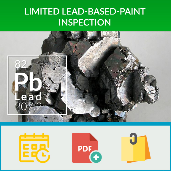 Limited lead based paint inspection healthy home for Lead based paint inspection